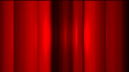 red stage curtain,metal background
