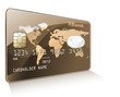 Credit or debit card. Payment concept.