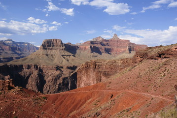 Kaibab trail in Grand canyon