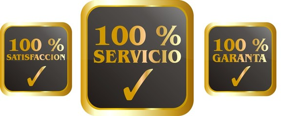 bouton 100% or 03