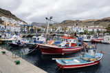 Fishing boats in Puerto de Mogan, Grand Canary Island