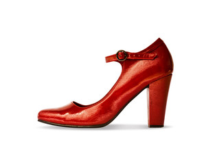 Red High Heel Shoe