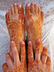 Indisches Henna-Tattoo