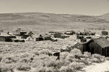 bodie national state park, ca, usa