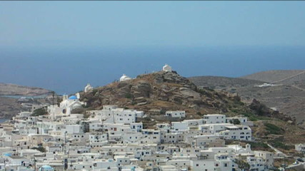 greek  cyclades architecture hora capital ios greece