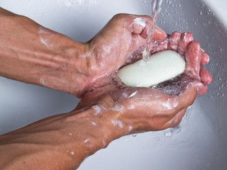 Holding soap
