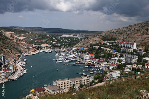 Ukraine, Crimea,  harbor for yachts and the small ships