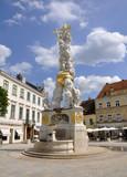 Barocke Pestsäule, Baden bei Wien poster