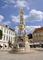 Barocke Pestsäule, Baden bei Wien