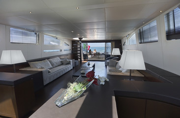 Italy, luxury yacht Tecnomar 36 (36 meters)
