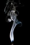 genuine incense smoke poster
