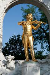 Johann Strauss Denkmal in Wien