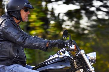 Motorbike man has freedom