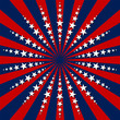 Stars and stripes. Fourth of July celebration theme.