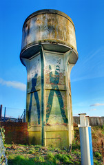 Disused water tower, Cardiff