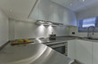 Italy, luxury yacht Tecnomar 36 (36 meters), kitchen