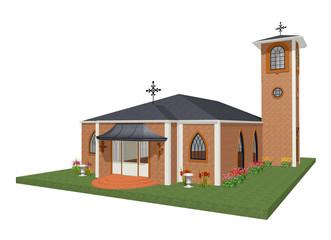 Chiesa-Church-Eglise-3d