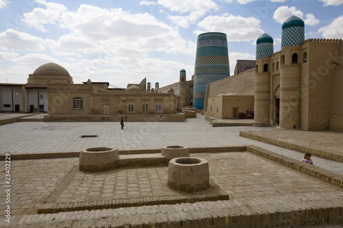 Khan Palace Gate, Khiva