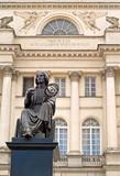 Kopernikus Statue in Warschau - 23406841