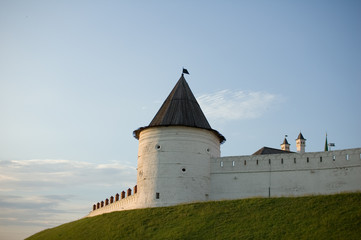 the castle in the Kazan