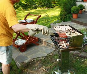 grillen garten steak essen ernährung sommer fußball fleisch