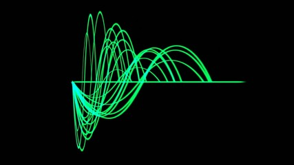 green light line,green background equalizer,seamless loop,def