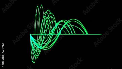 green light line,green background equalizer,seamless loop,def