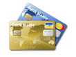 Icon of a credit cards, vector