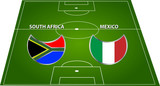 south africa versus mexico_2 poster