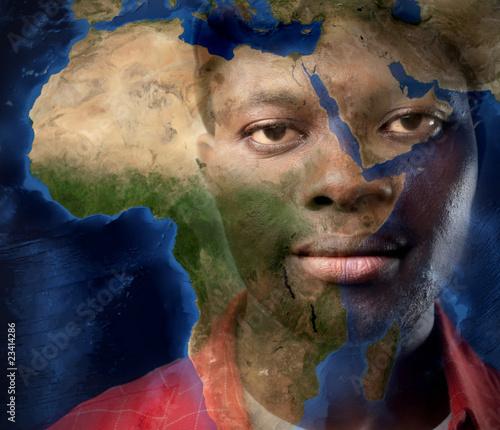 Fototapeten,welt,geographie,afrika,mann