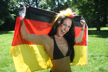 20100610 - Deutschland Fan