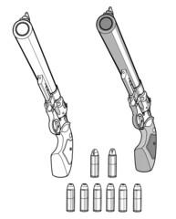拳銃と弾薬