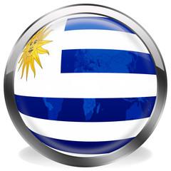 boton bandera de sur uruguay