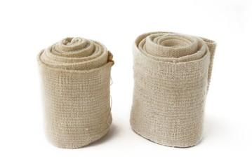 two elastic bandage..