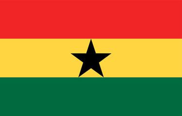 Ghanaflagge