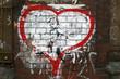 Graffiti, Herz, Liebe