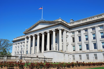 US Treasury Department building, Washington DC
