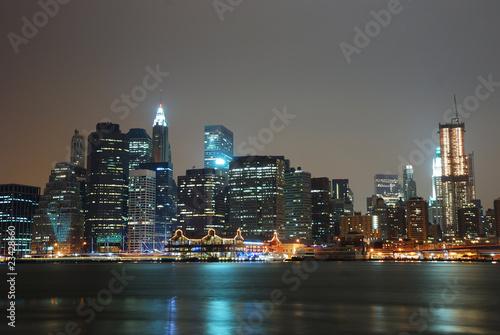MANHATTAN CITY SKYLINE, NEW YORK CITY