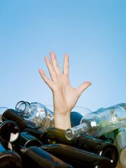 Buried in bottles