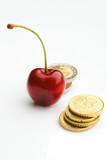 ciliegia con monete poster