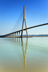Pont de Normandie, Le Havre, France