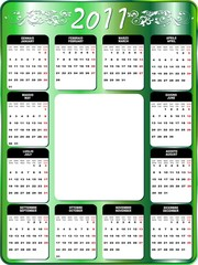 2011 Calendario-Calendar-3-Vector