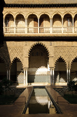 Royal Alcazar in Seville, Spain