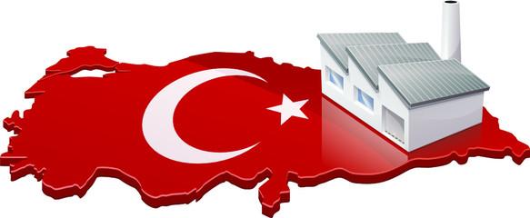 Usine en Turquie (détouré)