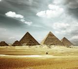 Fototapeta starodawny - archeologia - Piramidy