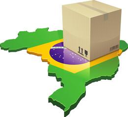 Livraison au Brésil (détouré)