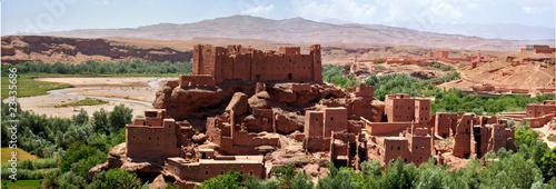 Canvas Marokko kasbah maroc dades