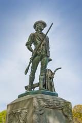Minuteman statue in Concord, Massachusetts