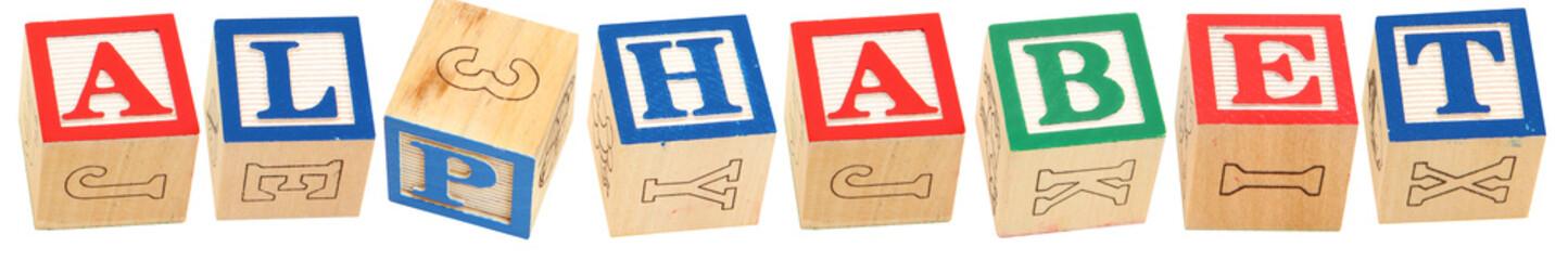 Alphabet Blocks ALPHABET