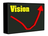 Vision Diagramm 3D poster
